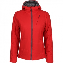 Primaloft Insulated Hooded Jacket Barrier - Women's [Red]